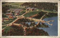 St. Mary of the Lake Seminary Postcard