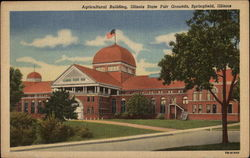 Agricultural Building, Illinois State Fair Grounds