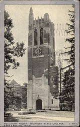 Beaumont Tower, Michigan State College