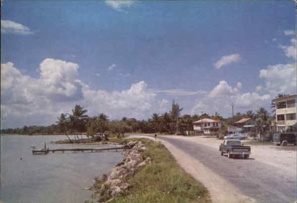 Coastal Road Corozal Belize Central America