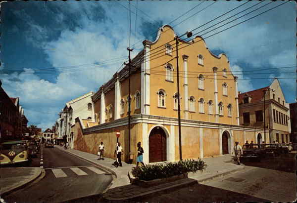 Jewish Synagogue Willemstad Curacao Caribbean Islands