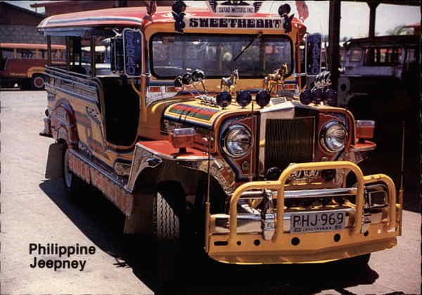 Philippine Jeepney Philippines Southeast Asia