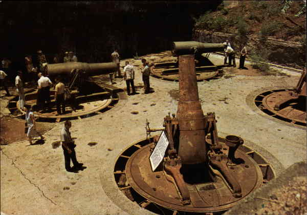 Giant 12-Inch Mortar Corregidor Philippines Southeast Asia
