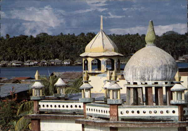 Mosque or House of Prayer Bongao Philippines Southeast Asia