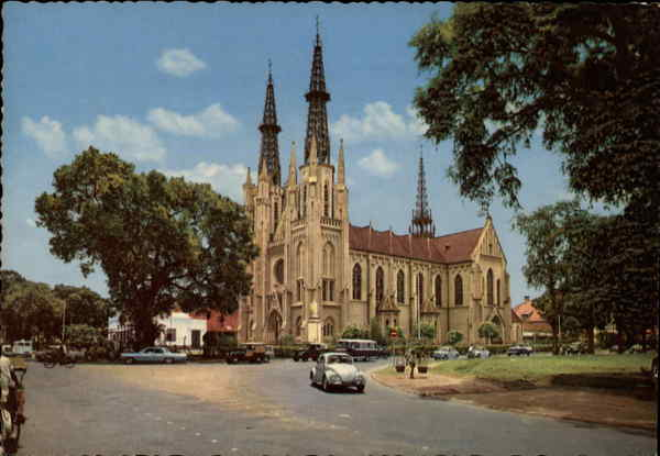 Catholic Church Djakarta Indonesia Southeast Asia