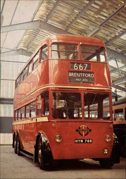 LT Trolleybus No. 1768 (Type Q) London England