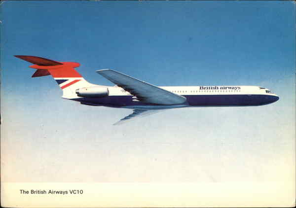 The British Airways VC10 Aircraft