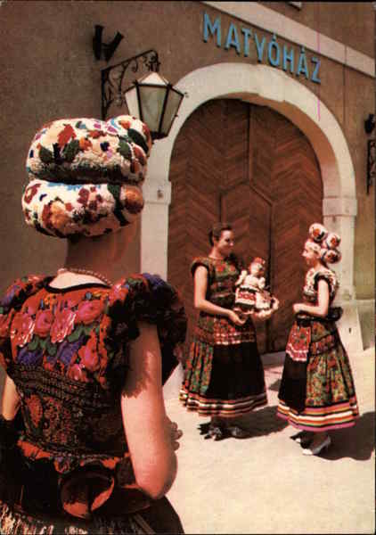 Popular Costume of Mezokovesd Hungary