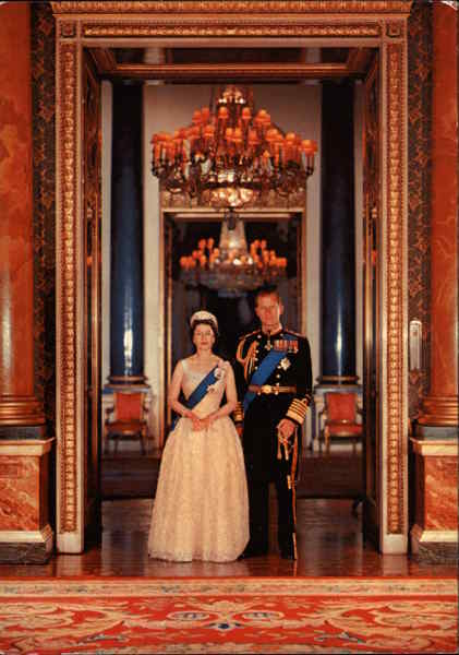 Her Majesty Queen Elizabeth and His Royal Highness The Duke of Edinburgh London England