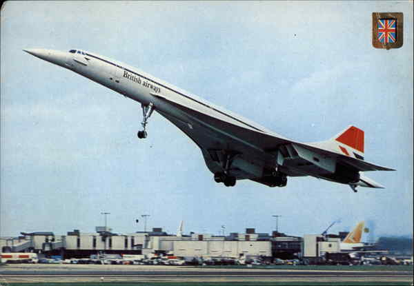 Concorde Taking Off Aircraft
