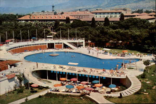 A View of Grand Hotel Efes Swimming Pool Turkey Greece, Turkey, Balkan States