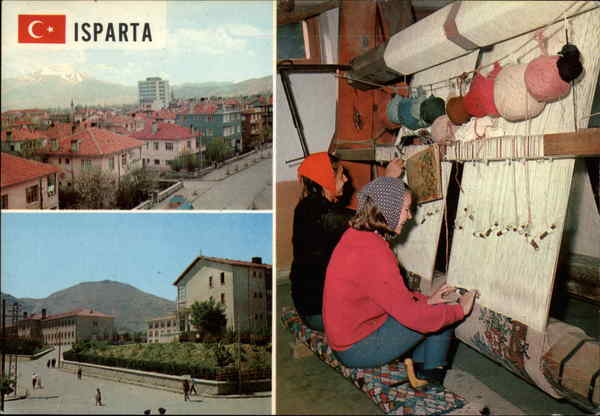 Views of Isparta Turkey Greece, Turkey, Balkan States