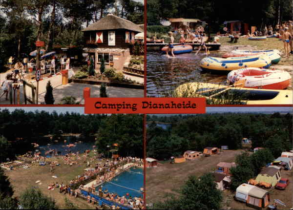 Camping At Dianaheide, With Views of the Holiday Park Amen Netherlands