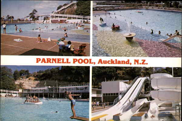 Parnell Pool Aukland New Zealand