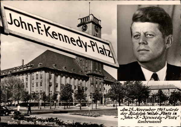 John F. Kennedy Platz Berlin Germany