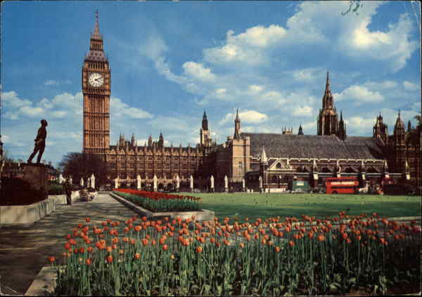 Big Ben and Parliament Square London England