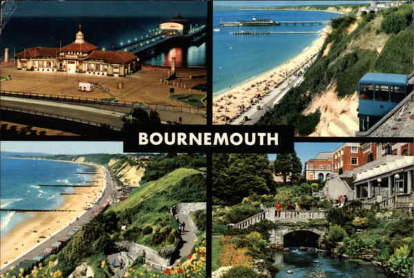 Views of Bournemouth England Dorset
