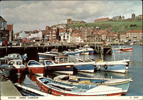 Whitby Inner Harbour Great Britain