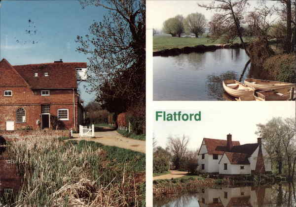 Views of Flatford England