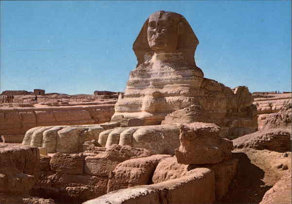 The Sphinx Giza Egypt Africa