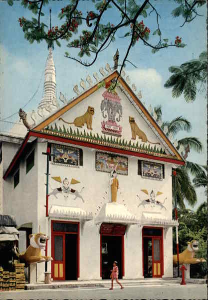 Buddhist Temple on Race Course Road in Singapore Southeast Asia