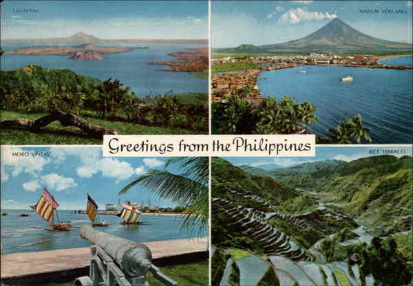 Greetings from the Philippines Southeast Asia