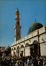 The Mosque In Which the Great Prophet is Buried Postcard
