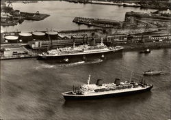 Passenger Ships TS Bremen and MS Europa
