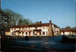Goodhews Royal Foresters Hotel Postcard