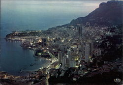Monaco - the Principality by night