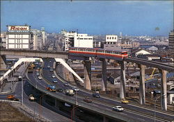 City Monorail Postcard