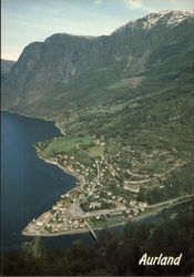 Aerial View of Aurland