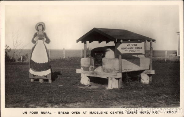 Un Four Rural - Bread Oven at Madeleine Centre Gaspe Nord Canada