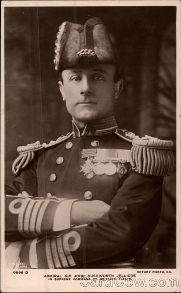 Admiral Sir John Rushworth Jellicoe Military