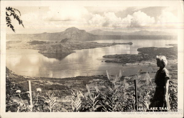 Lake Taal Philippines Southeast Asia