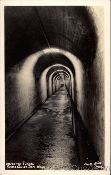 Inspection Tunnel Coulee Dam Washington