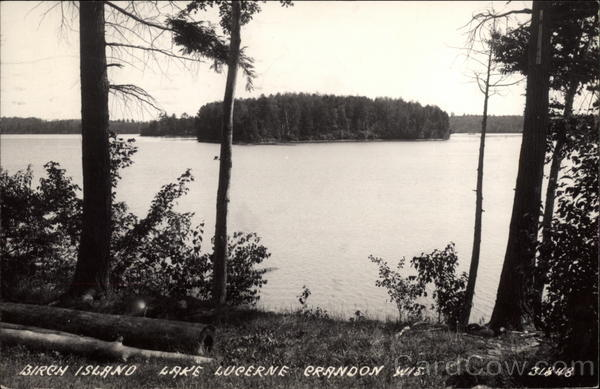 Birch Island, Lake Lucerne Crandon Wisconsin