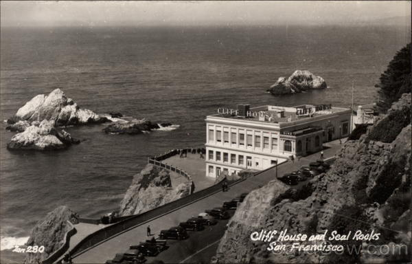 Cliff House and Seal Rocks San Fransicso California