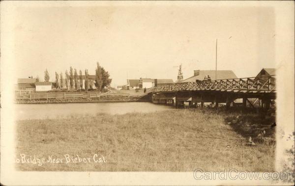 Bridge near Town Bieber California