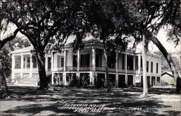 """Beauvoir House"" Jefferson Davis Shrine Biloxi, MS"