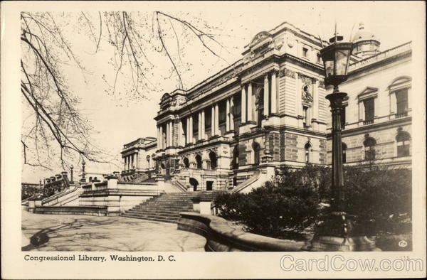 Congressional Library Washington District of Columbia
