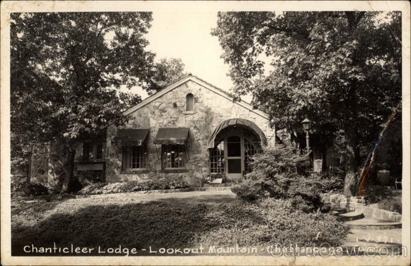 Chanticleer Lodge, Lookout Mountain Chattanooga Tennessee