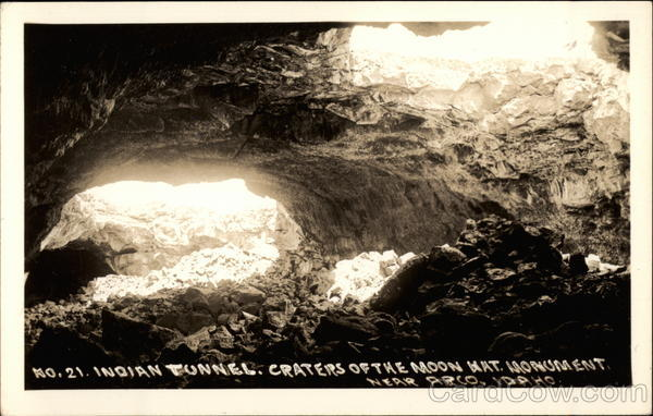 Indian Tunnel, Craters of the Moon National Monument Arco Idaho