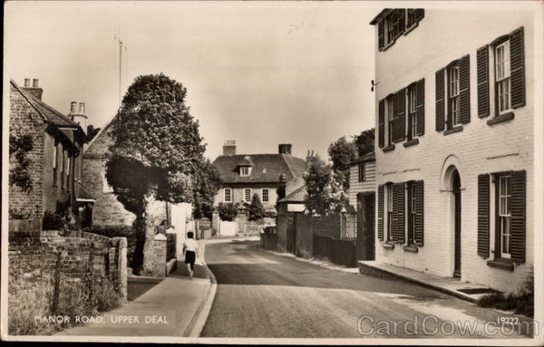 Manor Road Upper Deal England