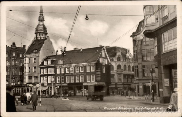 Horst wessel platz wuppertal barmen germany for Wuppertal barmen hotel