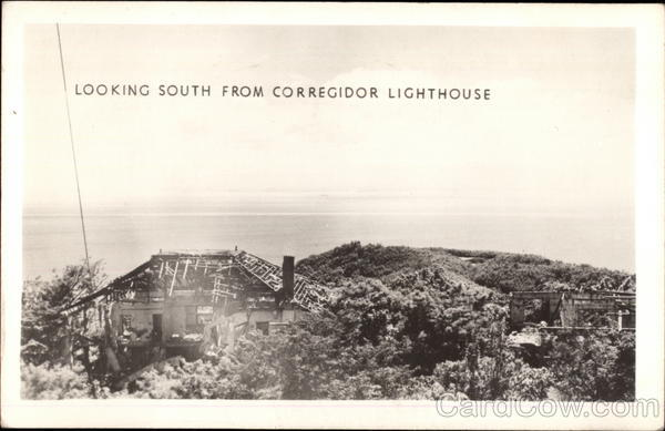 Looking South from Lighthouse Corregidor Philippines