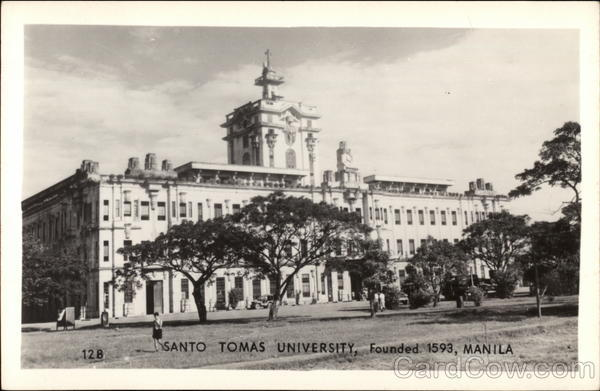 Santo Tomas University Manila Philippines Southeast Asia