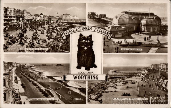 Greetings from Worthing England Sussex