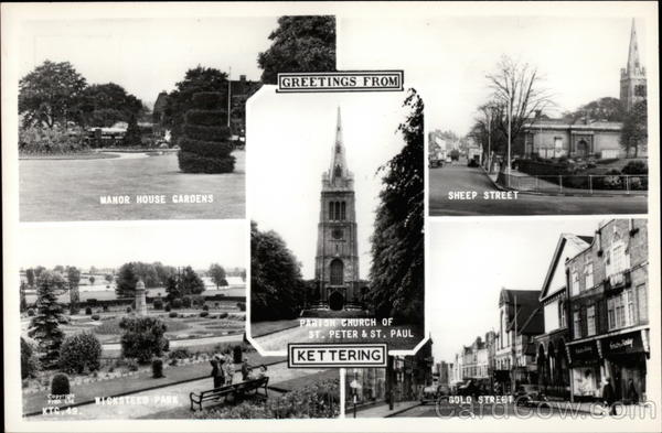 Various View of Town Kettering England