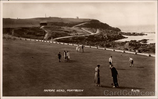 Ramore Head Portrush Northern Ireland Golf